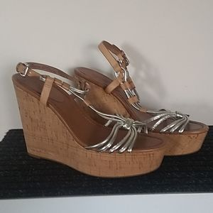 Coach 'Georgiana' wedge sandals